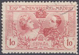 ESPAÑA - SPAGNA - SPAIN - ESPAGNE - 1907 -  Yvert 236 Usato. - 1889-1931 Regno: Alfonso XIII