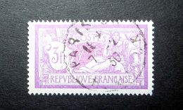 FRANCE 1927 N°240 OBL. (MERSON. 3F LILAS ET CARMIN) - 1900-27 Merson