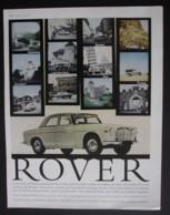 ROVER 3 LITRE MOTOR CAR  ORIGINAL  1961 MAGAZINE ADVERT - Other