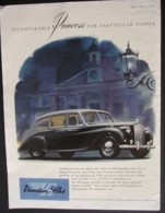VANDEN PLAS PRINCESS MOTOR CAR  ORIGINAL  1956 MAGAZINE ADVERT - Sonstige
