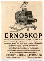 Original-Werbung/Inserat/ Anzeige 1928 - ERNEMANN / ERNOSKOP  - Ca. 100 X 80 Mm - Werbung