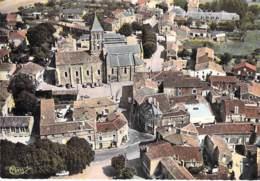 85 - ST HILAIRE DES LOGES : Vue Aérienne - Le Centre Du Bourg - CPSM Dentelée Colorisée GF - Vendée - Saint Hilaire Des Loges