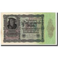Billet, Allemagne, 50,000 Mark, 1922, 1922-11-19, KM:80, TTB - [ 3] 1918-1933 : Repubblica  Di Weimar