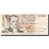 Billet, Équateur, 10,000 Sucres, 1995, 1995-03-06, KM:127b, TB - Ecuador