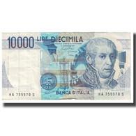 Billet, Italie, 10,000 Lire, 1984, 1984-09-03, KM:112a, TB - [ 2] 1946-… : République