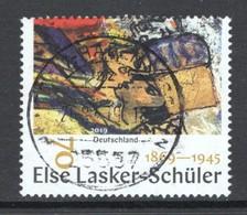 Duitsland, Mi 3443 Jaar 2019, Else Lasker-Schüler, Mooi  Gestempeld - [7] République Fédérale