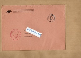 LSC 1984 - Cachets PARIS NAVAL & Cachet DIRECTION DE LA POSTE NAVALE - Marcophilie (Lettres)