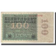 Billet, Allemagne, 100 Millionen Mark, 1923, 1923-08-22, KM:107a, SUP - [ 3] 1918-1933 : Repubblica  Di Weimar