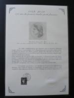 Document Philatélique Cérès 0.20 € Contenu Dans Le Coffret Prestige 170 Ans Du Premier Timbre De France 1849/2019 - Documents De La Poste