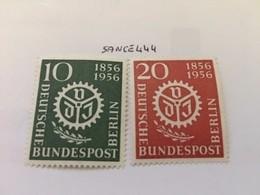 Berlin German Engineers 1956 Mnh - [5] Berlin