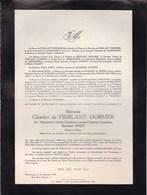 FREUX LASNE Magdeleine SNOY Baronne Charles De FIERLANT DORMER 1883-1946 Familles De LIEDEKERKE D'HUART - Obituary Notices