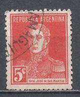 Argentina 1923. Scott #345 (U) General, Jose De San Martin * - Argentinië