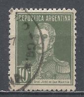 Argentina 1923. Scott #346 (U) General, Jose De San Martin * - Argentina