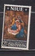 NIUE Scott # 120 MH - Christmas 1967 - Niue