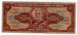 BRAZIL,20 CRUZEIROS,1955-61,P.160 - Brazil