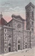 FIRENZE. FACCIATA DELLA CATTEDRALE. G BARACCHI. CPA CIRCA 1900s  - BLEUP - Firenze (Florence)