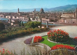 FIRENZE. PANORAMA. INNOCENTI ED. CPA CIRCA 1970s - BLEUP - Firenze (Florence)