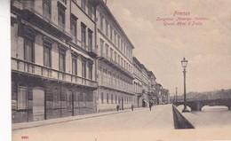 FIRENZE. LUNGARNO AMERIGO VESPUCCI. GRAND HOTEL D'ITALIE. CPA CIRCA 1900s - BLEUP - Firenze (Florence)