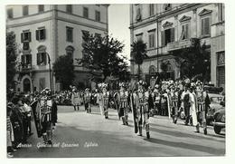 671 AREZZO GIOSTRA DEL SARACINO SFILATA ANIMATA 1960 CIRCA - Arezzo