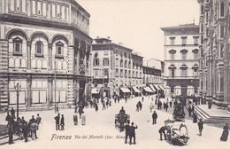 FIRENZE. VIA DEI MARTELLI. FOT ALINARI. PAUL TRABERT. CPA CIRCA 1900s - BLEUP - Firenze (Florence)