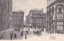 FIRENZE. VIA CALZAIOLI. PAUL TRABERT. CPA CIRCA 1900s - BLEUP - Firenze (Florence)