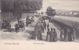 FIRENZE. VIALE DELLA REGINA. PAUL TRABERT. CPA CIRCA 1900s - BLEUP - Firenze (Florence)
