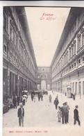 FIRENZE. GLI UFFIZI. GARZINI E PEZZINI. CPA CIRCA 1900s - BLEUP - Firenze (Florence)