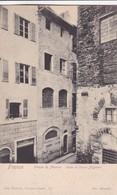 FIRENZE. PIAZZA S MARTINO. CASA DI DANTE ALIGHIERI. PAUL TRABERT. CPA CIRCA 1900s - BLEUP - Firenze (Florence)