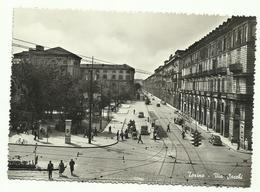 679 TORINO VIA SACCHI ANIMATA 1953 - Places