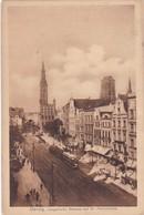 DANZIG. LANGEMARKT, RATHAUS UND ST MARIENKIRCHE. ZEDLER & VOGEL. CPA CIRCA 1910s - BLEUP - Polonia