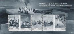 AUSTRALIAN ANTARCTIC TERRITORY (AAT) • 2016 • Hurley's Journey 1914-16 - Miniature Sheet • MNH (1) - Nuovi