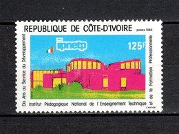 COTE D'IVOIRE   N° 760  NEUF SANS CHARNIERE COTE 1.50€   ENSEIGNEMENT TECHNIQUE - Ivory Coast (1960-...)
