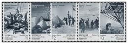 AUSTRALIAN ANTARCTIC TERRITORY (AAT) • 2016 • Hurley's Journey 1914-16  • MNH (5) - Australian Antarctic Territory (AAT)