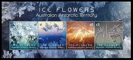 AUSTRALIAN ANTARCTIC TERRITORY (AAT) • 2016 • Ice Flowers - Miniature Sheet • MNH (1) - Unused Stamps