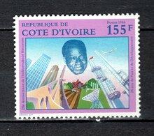 COTE D'IVOIRE   N° 784  NEUF SANS CHARNIERE COTE 2.00€   PRESIDENT - Ivory Coast (1960-...)