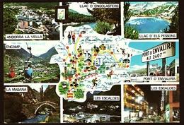 Andorra  -  Mehrbild-Ansichtskarte Ca.1981  (10720) - Andorra