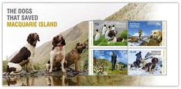 AUSTRALIAN ANTARCTIC TERRITORY (AAT) • 2015 • The Dogs That Saved Macquarie Island - Miniature Sheet • MNH (1) - Nuovi