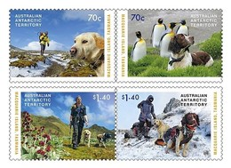 AUSTRALIAN ANTARCTIC TERRITORY (AAT) • 2015 • The Dogs That Saved Macquarie Island • MNH (4) - Nuovi