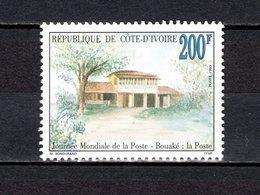 COTE D'IVOIRE   N° 918  NEUF SANS CHARNIERE COTE 2.50€  JOURNEE DE LA POSTE - Ivory Coast (1960-...)
