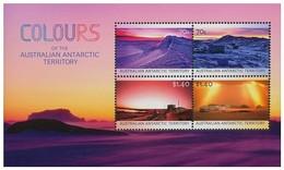 AUSTRALIAN ANTARCTIC TERRITORY (AAT) • 2015 • Colours Of The Australian Antarctic Territory - Miniature Sheet • MNH (1) - Nuovi
