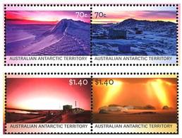 AUSTRALIAN ANTARCTIC TERRITORY (AAT) • 2015 • Colours Of The Australian Antarctic Territor • MNH (4) - Australian Antarctic Territory (AAT)