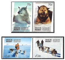 AUSTRALIAN ANTARCTIC TERRITORY (AAT) • 2014 • Era Of The Husky • MNH (4) - Australian Antarctic Territory (AAT)