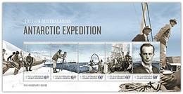 AUSTRALIAN ANTARCTIC TERRITORY (AAT) • 2014 • Centenary Australian Antarctic Expedition - Miniature Sheet • MNH (1) - Australian Antarctic Territory (AAT)