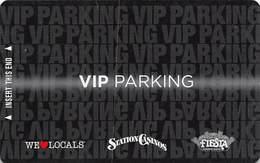 Station Casinos Las Vegas, NV - VIP Parking Card - Copyright 2012 - Exp 12/31/12 - Casino Cards