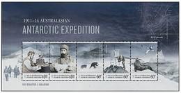 AUSTRALIAN ANTARCTIC TERRITORY (AAT) • 2013 • Centenary Australian Antarctic Expedition - Miniature Sheet • MNH (1) - Australian Antarctic Territory (AAT)