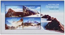 AUSTRALIAN ANTARCTIC TERRITORY (AAT) • 2013 • Australian Antarctic Mountains - Miniature Sheet • MNH (1) - Australian Antarctic Territory (AAT)