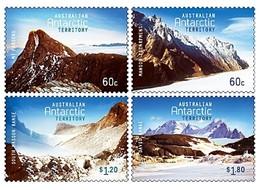 AUSTRALIAN ANTARCTIC TERRITORY (AAT) • 2013 • Australian Antarctic Mountains • MNH (4) - Australian Antarctic Territory (AAT)