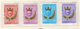 1965 - LIBANO - LEBANON - Mi. Nr.  930/933 - NH - (S03052019.....) - Libano