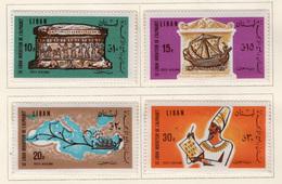 1966 - LIBANO - LEBANON - Mi. Nr.  958/961 - NH - (S03052019.....) - Liban