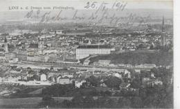 AK 0229  Linz An Der Donau Vom Pöstlingberg - Verlag Grossmann Nachf. Um 1910 - Linz